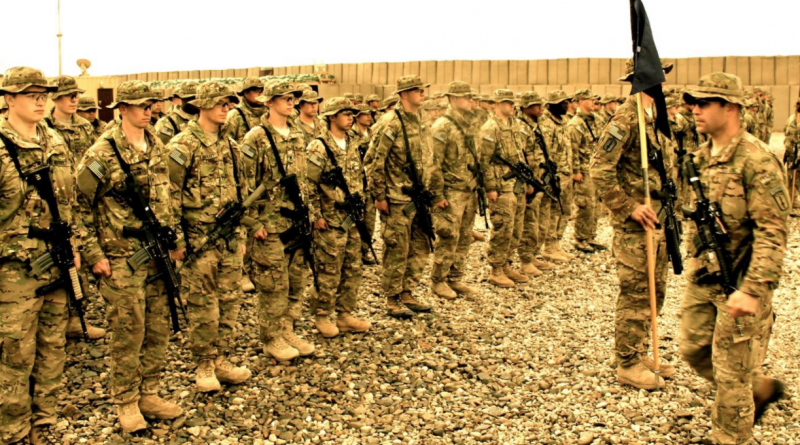 U.S. Army troops in Afghanistan