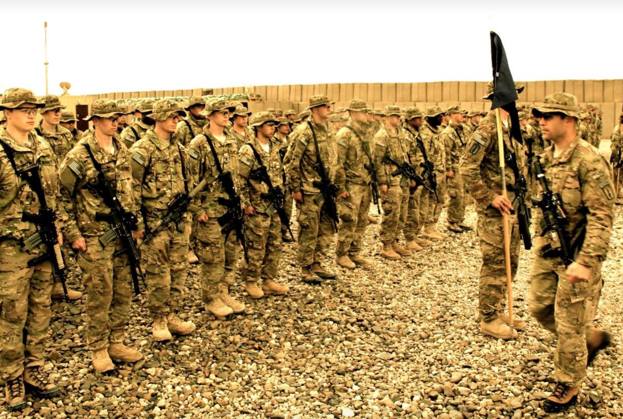 U.S. Army troops in Afghanistan